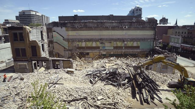 Mayfair demolition