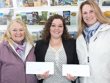 Winners of Wasaga chamber of commerce Christmas lights contest