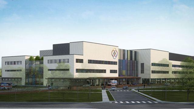 Peel Memorial Redevelopment Concept Drawing