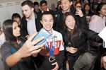 Patrick Chan a Pan Am Games Torchbearer