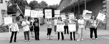 Clients left in the lurch as Paramed-workers strike– Image 1