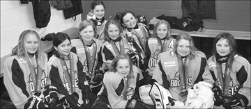 Shootout victory for Goulbourn Rockets novice girls hockey team– Image 1