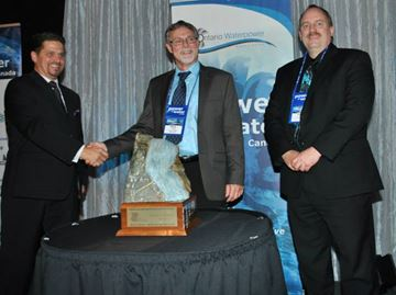 Orillia Power Corp. director recognized with award