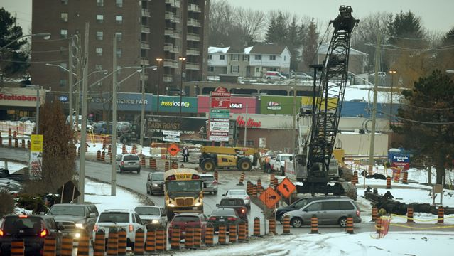 LRT Detours: King In Waterloo And Courtland In Kitchener