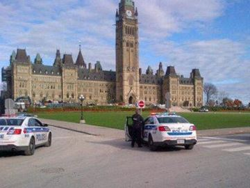 Shooting on Parliament Hill, Ottawa