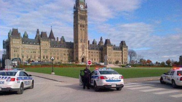 Shooting on Parliament Hill, Ottawa