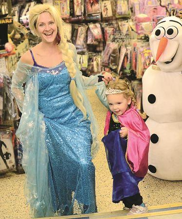 Frozen tops Halloween costume list
