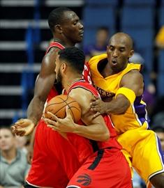 Lowry gets 25 in Raptors' 105-97 preseason win over Lakers-Image1