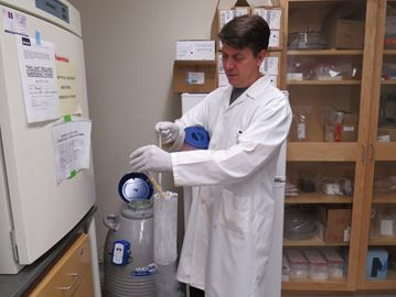 Biologist helping develop cancer-fighting ice syrup