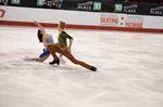 Alex Gunther of Stittsville skates in national skating championships