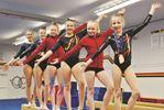 Winning gymnasts - April 11, 2015