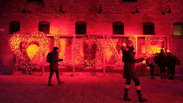 photos of the week the toronto light festival a sci fi. Black Bedroom Furniture Sets. Home Design Ideas