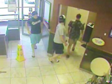 Orillia OPP release photo of 'persons of interest' in suspicious package investigation
