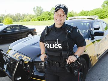 Cobourg Police Constable Cindy Reeves