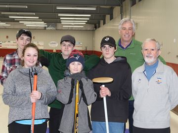 Meaford high school curlers advance to finals