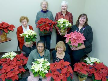 Acclaim Health delivering poinsettias to Halton seniors