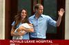 Royals Leave Hospital