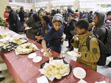 Humberwood Centre Community Holiday Breakfast