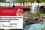 Win a $50 gift card to Scandinave Spa Blue Mountain