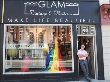 Pride window - Richard Cardoret