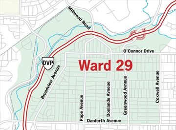 Ward 29 Toronto Danforth