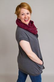 Elizabeth Morris will be leading a workshop and performing a comedy show at The Box at the H'art Centre on March 28.