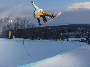 Eight olympians part of ski, snowboard event at Blue Mountain