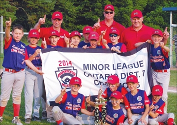 Kemptville Minor Wildcats head to the Ontario Little League Provincial– Image 1