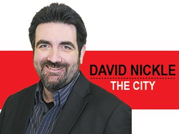 David Nickle: THE CITY