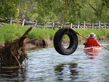 Canoe the Carp River