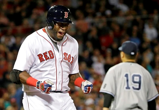Ortiz hits 537th homer, passes Mantle for 17th place