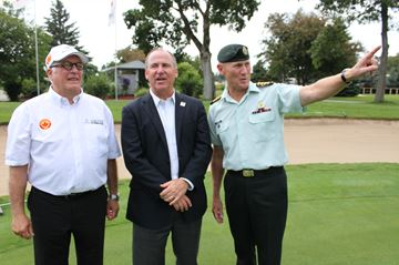 First-year PGA golf tourney on target to break even, raise funds for military charity
