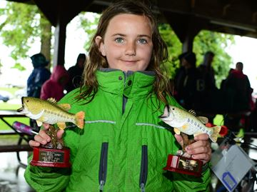 Kids bass derby in Meaford a hit