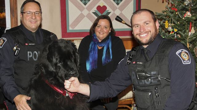 Dog owners thank police