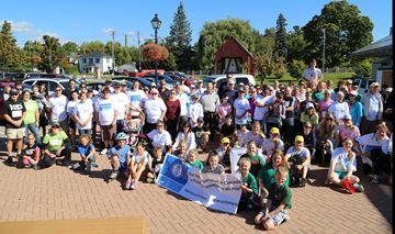 Kidney Walk sets for 5km event