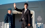 Trudeau leads delegation to Peres funeral-Image1