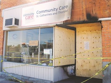 Food bank, thrift shop closed after fire