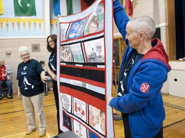 Fitch Street school students go the distance for Terry Fox