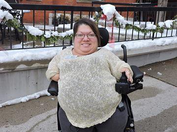 Former Ontario Junior Citizen winner Missy Little