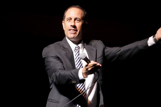 Comedy legend Jerry Seinfeld coming to Meridian Centre