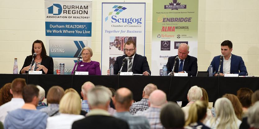Federal candidates share their parties' plans in Scugog