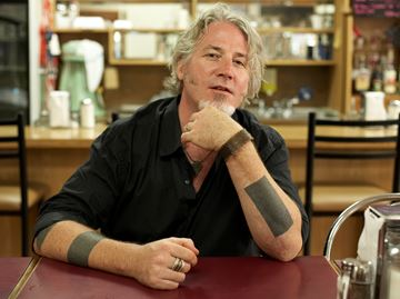 Jon Brooks at Oakville's Moonshine Café