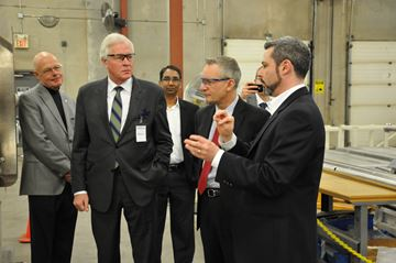 International Trade Minister Ed Fast visits Oakville