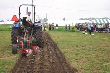 Turning the furrow