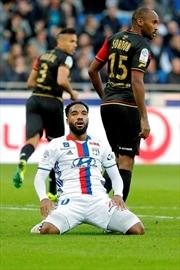 Lacazette scores but Lyon's defence falls apart in 3-1 loss-Image1