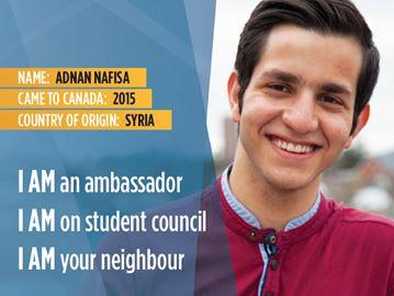 Adnan Nafisa, I Am Waterloo Region campaign