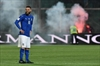 Italy match halted for 9 mins as Albania fans throw flares-Image3