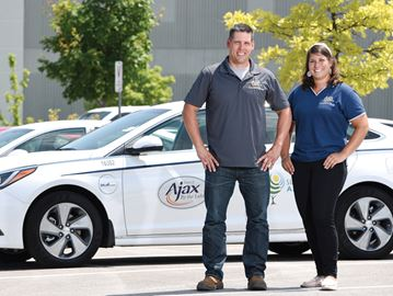 Town of Ajax hybrid cars
