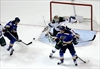 Blues whip Wild 4-1, even series at game apiece-Image1
