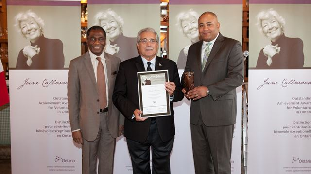 Oakville businessman recognized for supporting seniors